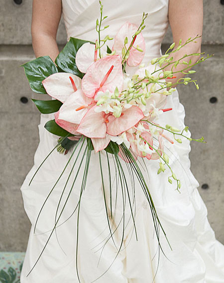 Bouquet Sposa Anthurium.Wedding Service Ugo Pellecchia Piante E Fiori